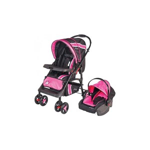 Johnson Db 205 Lotus Travel Bebek Arabası Pembe